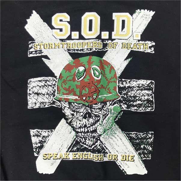 S.O.D. スウェット SPEAK ENGLISH OR DIE
