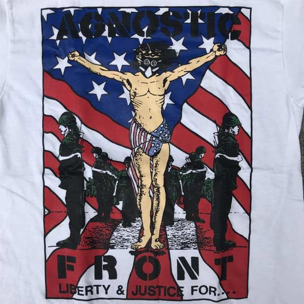 AGNOSTIC FRONT Tシャツ Liberty & Justice For...
