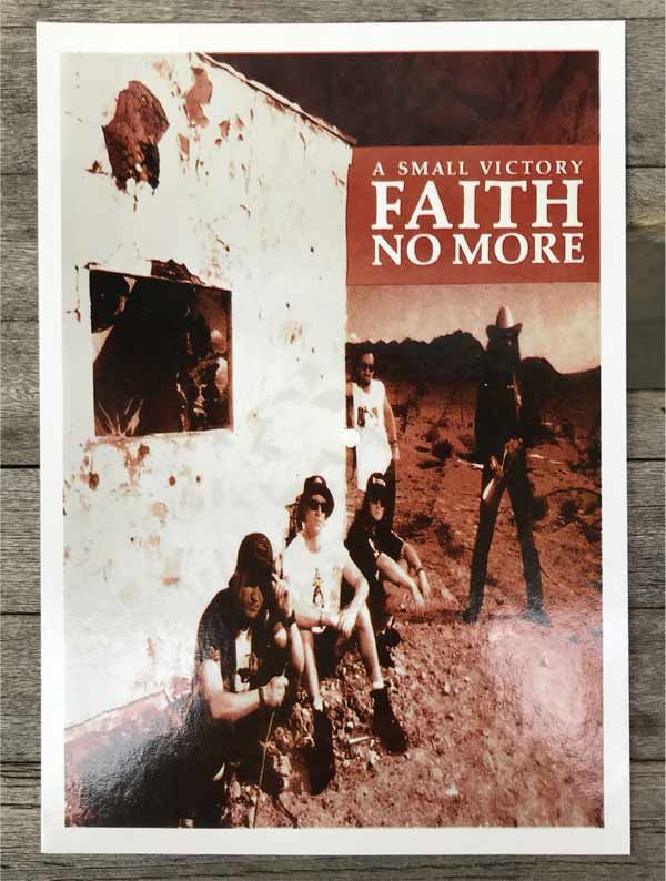 FAITH NO MORE ポストカード
