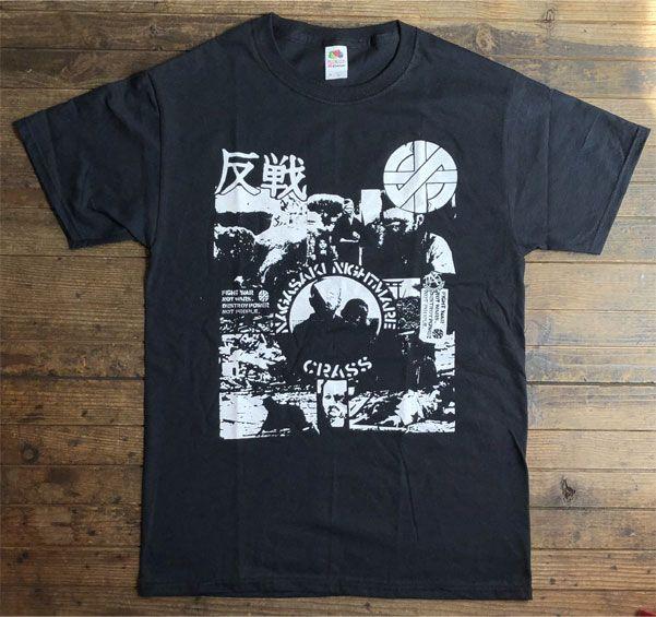 CRASS Tシャツ NAGASAKI NIGHTMARE 2