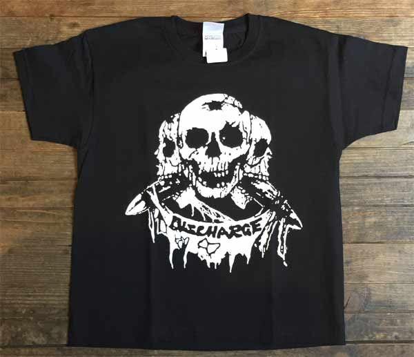 DISCHARGE キッズTシャツ OFFICIAL