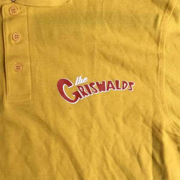 GRISWALDS ポロシャツ LOGO YELLOW オフィシャル