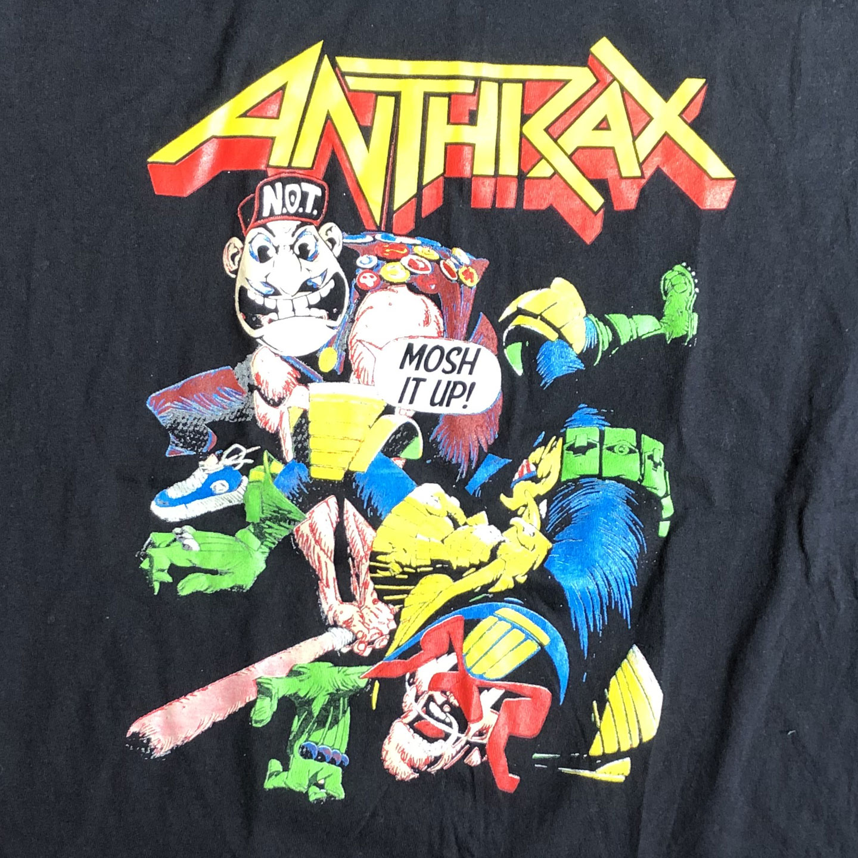 USED! ANTHRAX Tシャツ MOSH IT UP!