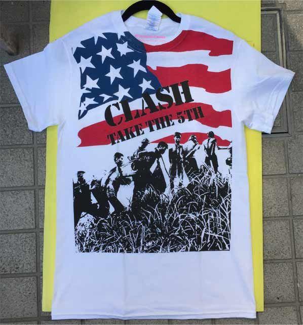 THE CLASH Tシャツ TAKE THE 5TH