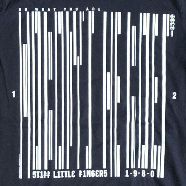 STIFF LITTLE FINGERS Tシャツ NOBODY'S HEROES