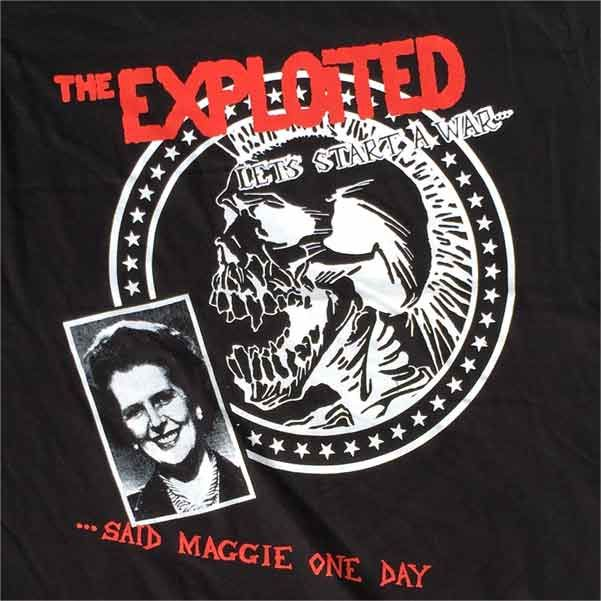 THE EXPLOITED Tシャツ Let's Start a War