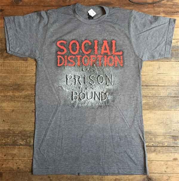 SOCIAL DISTORTION Tシャツ PRISON BOUND