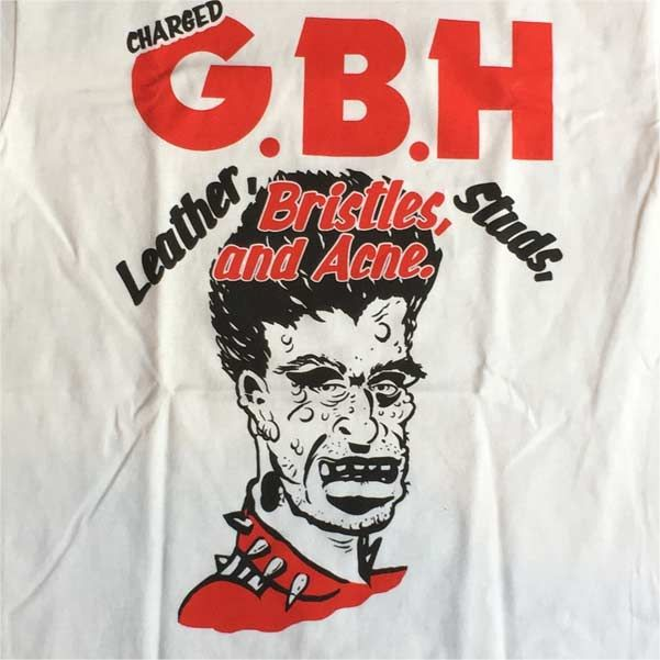 G.B.H Tシャツ Leather, Bristles, Studs And Acne