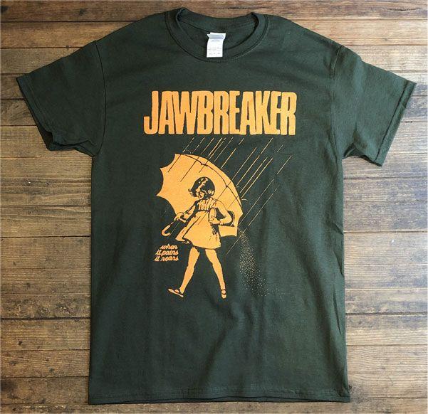 JAWBREAKER Tシャツ when it pains it roars