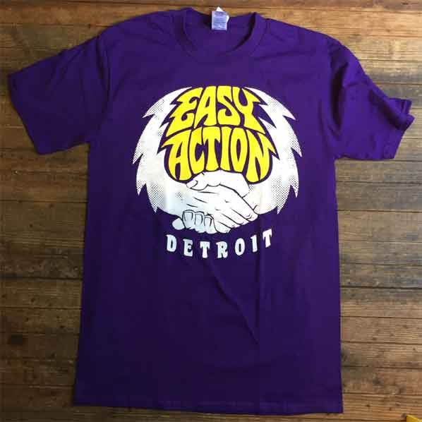 EASY ACTION Tシャツ DETROIT