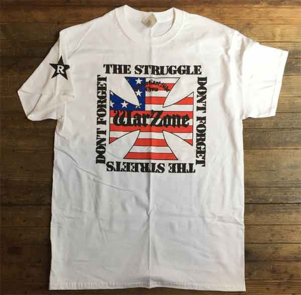 WARZONE Tシャツ DON'T FORGET THE STRUGGLE... オフィシャル!
