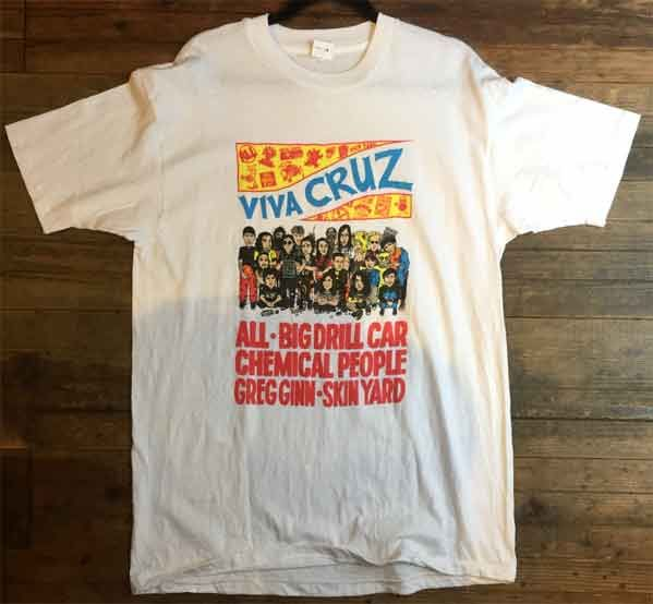 USED! CRUZ RECORDS Tシャツ VIVA CRUZ
