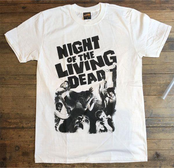 NIGHT OF THE LIVING DEAD Tシャツ オフィシャル!
