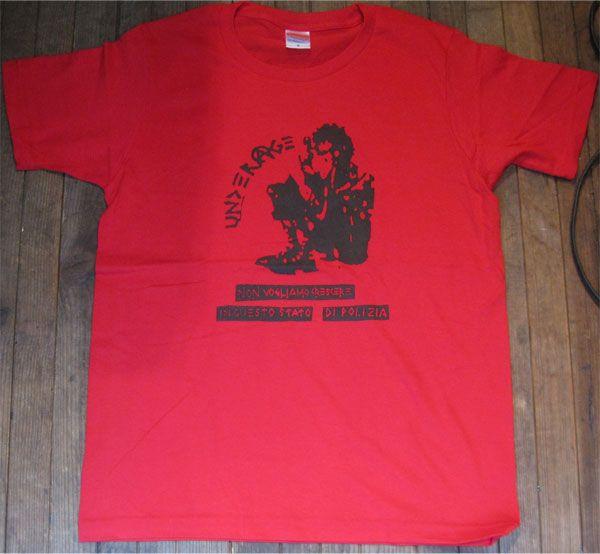 UNDERAGE Tシャツ NON VOGLIAMO