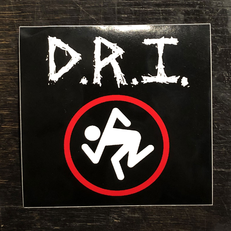 D.R.I. ステッカー SKUNKER