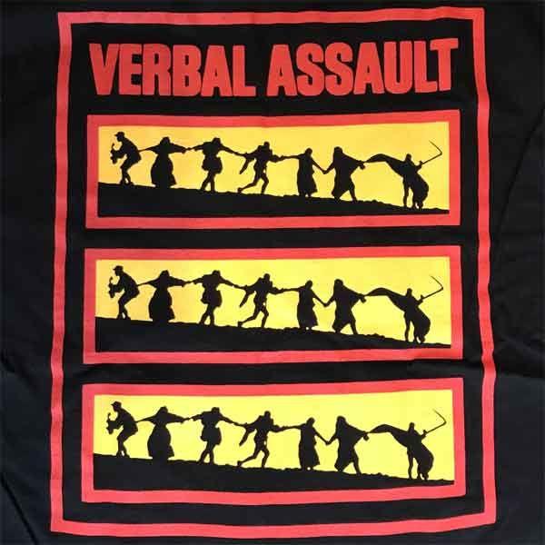 VERBAL ASSAULT Tシャツ TRIAL オフィシャル!