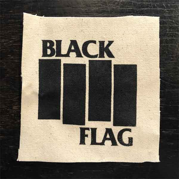 BLACK FLAG PATCH BARS&LOGO2