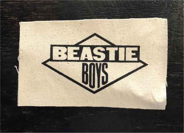 BEASTIE BOYS PATCH LOGO