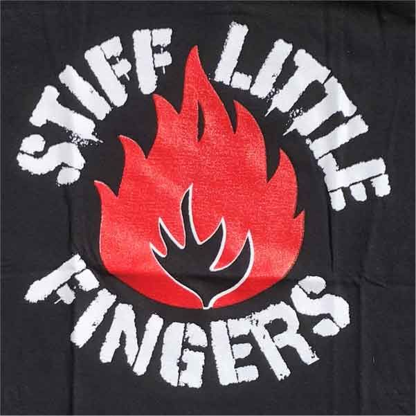 STIFF LITTLE FINGERS Tシャツ FLAME