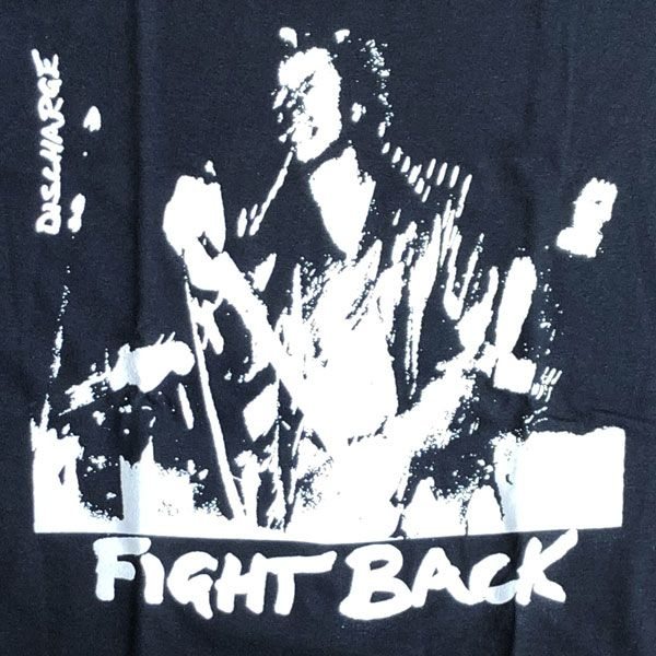 DISCHARGE  Tシャツ FIGHT BACK
