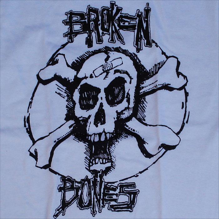 BROKEN BONES Tシャツ CROSS BONE