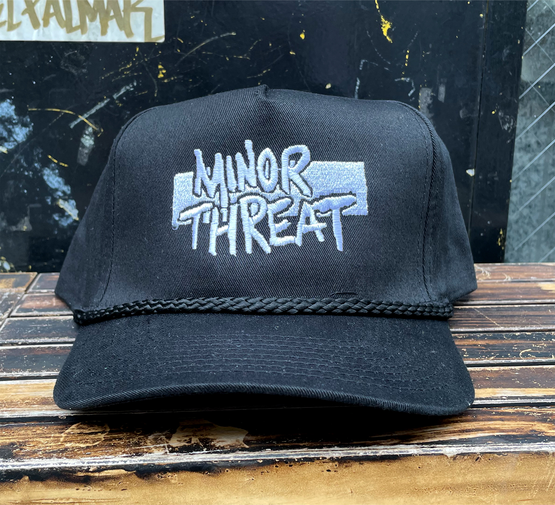MINOR THREAT CAP LOGO