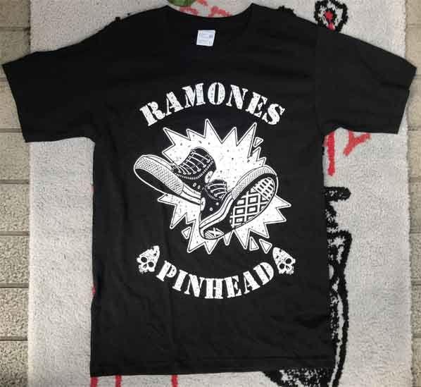 RAMONES Tシャツ PINHEAD