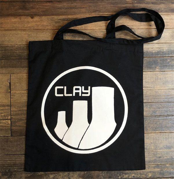 CLAY RECORDS TOTEBAG