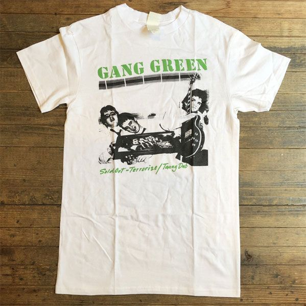 GANG GREEN T シャツ SOLD OUT