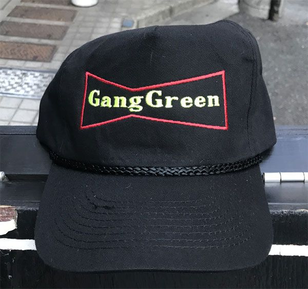 GANG GREEN CAP LOGO