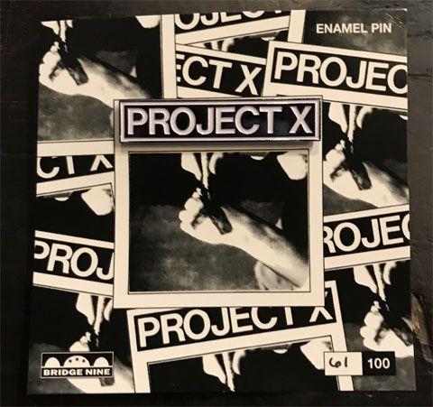 PROJECT X ピンバッジ STRAIGHT EDGE REVENGE