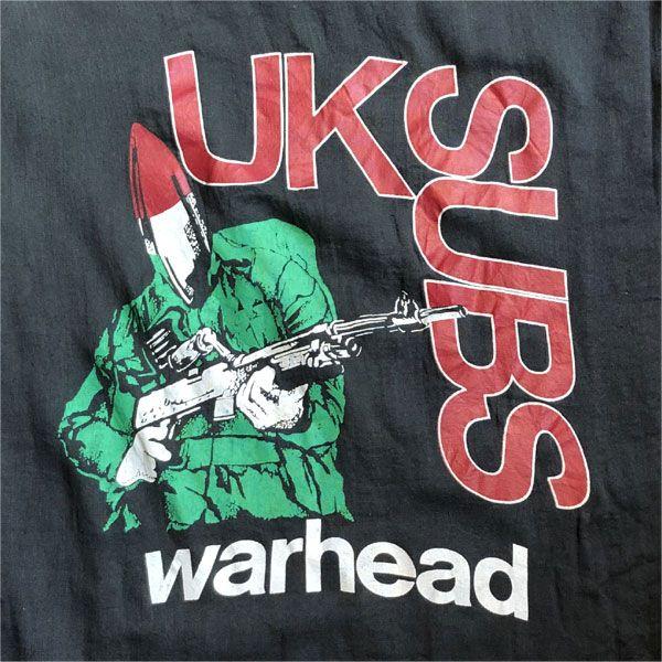 USED! UK SUBS ガーゼシャツ