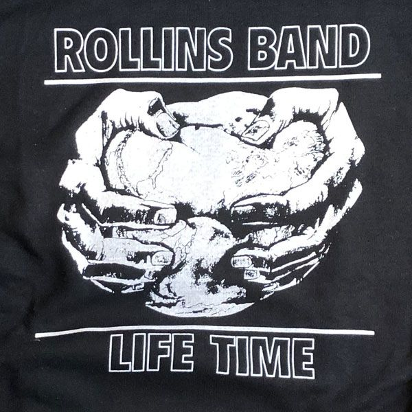 ROLLINS BAND パーカー LIFE TIME
