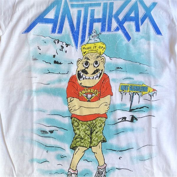ANTHRAX Tシャツ WINTER IS HERE OFFICIAL!
