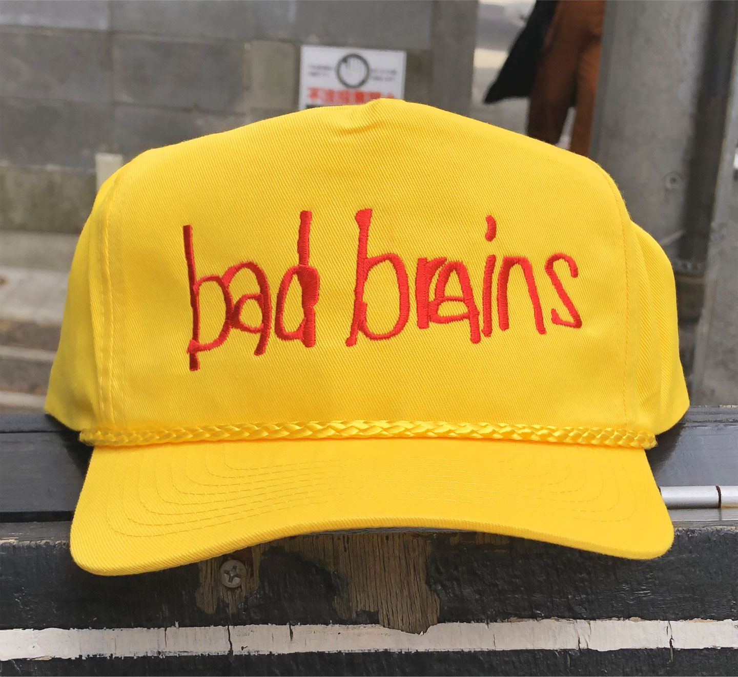 BAD BRAINS CAP LOGO
