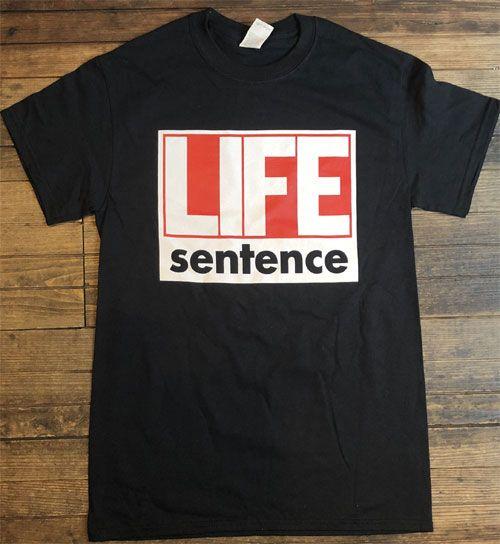 LIFE SENTENCE Tシャツ 1stジャケット オフィシャル!!