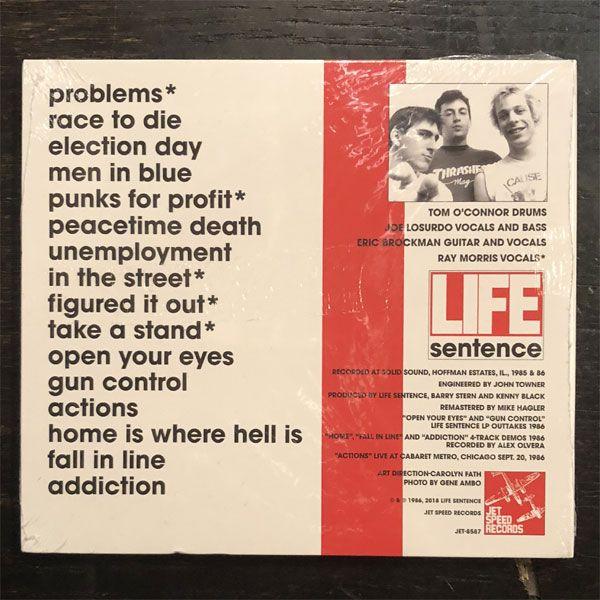 LIFE SENTENCE CD 1st デジパック