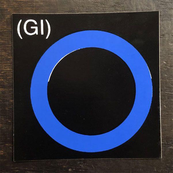GERMS ステッカー GI