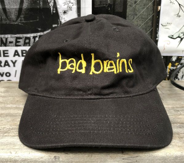 BAD BRAINS CAP LOGO2 オフィシャル!