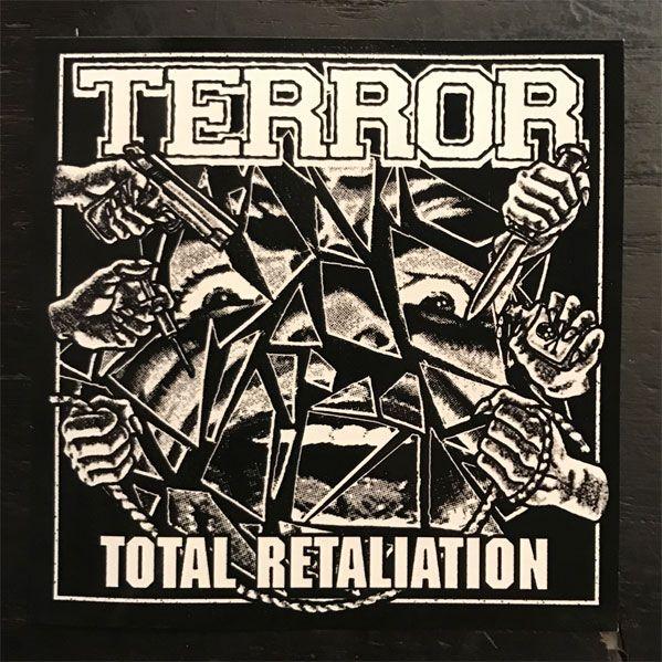 TERROR ステッカー TOTAL RETALIATION