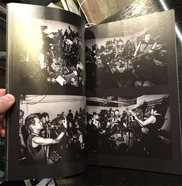 CONTRAST ATTITUDE Relentless Assault 2018 U.S. West Coast Tour Photo Zine by SENNA CHANEL