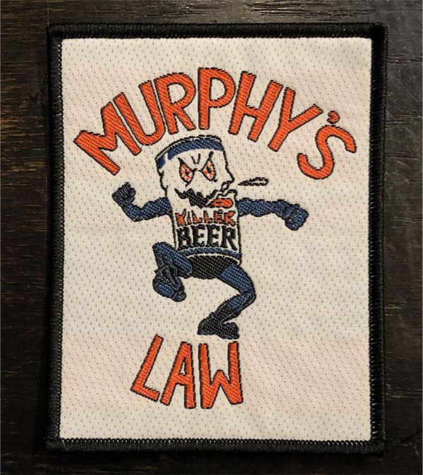 MURPHY'S LAW 刺繍ワッペン KILLER BEER