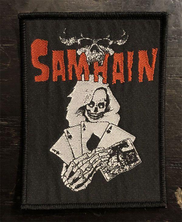 SAMHAIN 刺繍ワッペン CARD