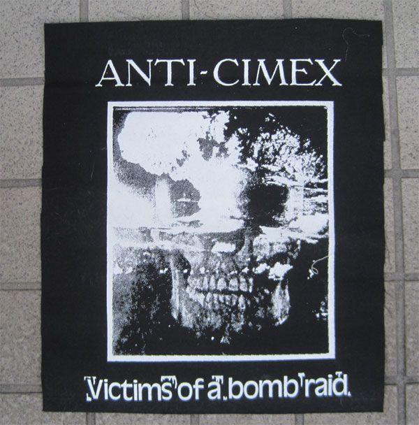 ANTI CIMEX  BACKPATCH VICTIM