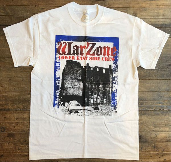 WARZONE Tシャツ OPEN YOUR EYES POSTER オフィシャル