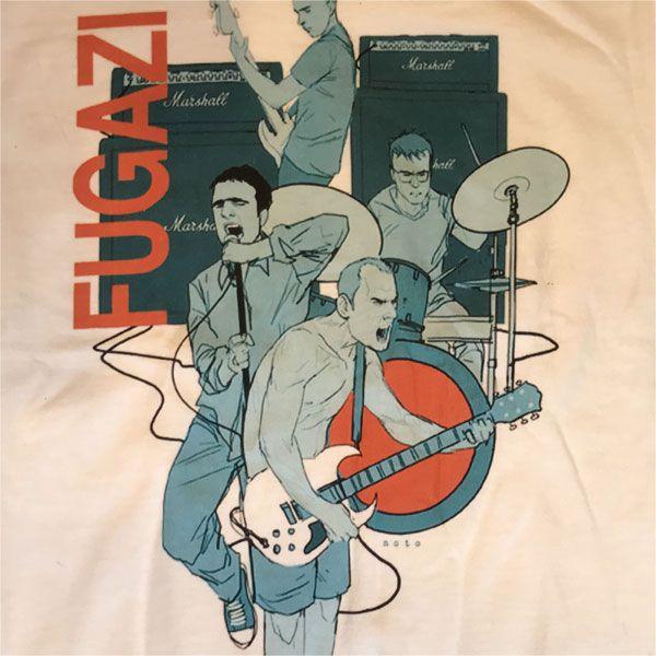 FUGAZI Tシャツ イラスト