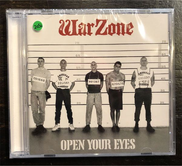 WARZONE CD Open Your Eyes