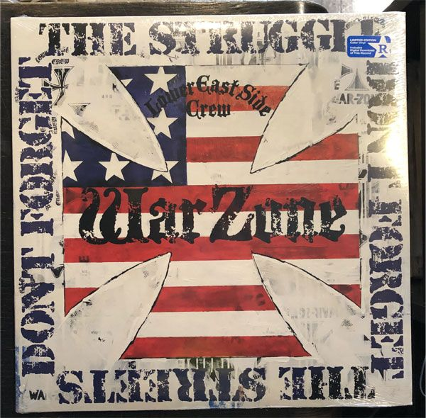 WARZONE LP Don't forget the struggle, don't forget the streets LTD.