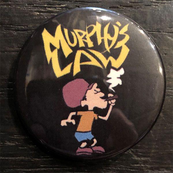 MURPHY'S LAW バッジ SMOKE