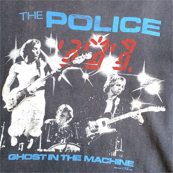 USED! THE POLICE VINTAGE Tシャツ GHOST IN THE MACHINE